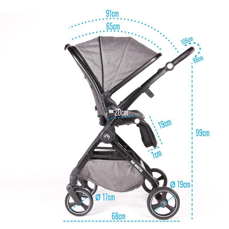 Baby Monsters Marla wózek wielofunkcyjny
