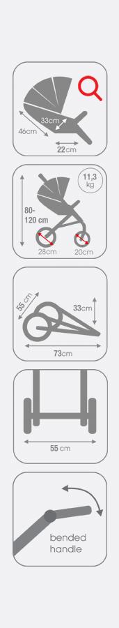 coletto joggy wózek spacerowy