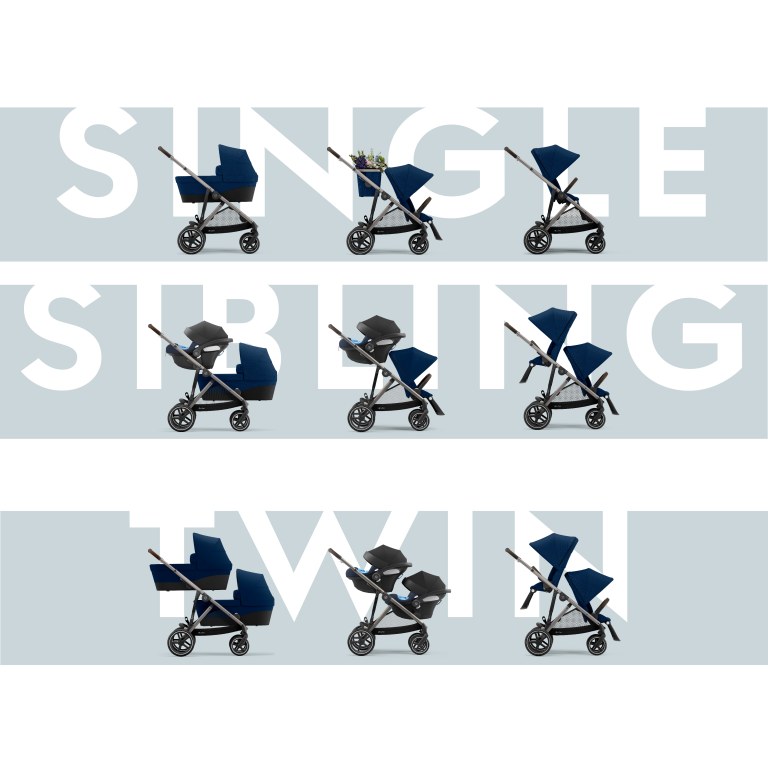 cybex gazelle s wózek spacerowy