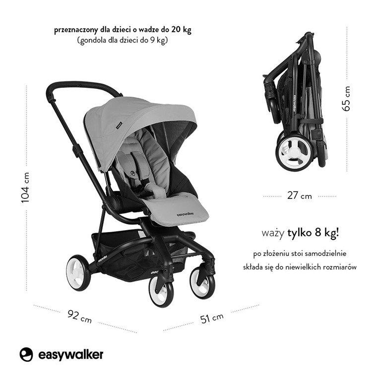 easywalker charley wózek 2w1