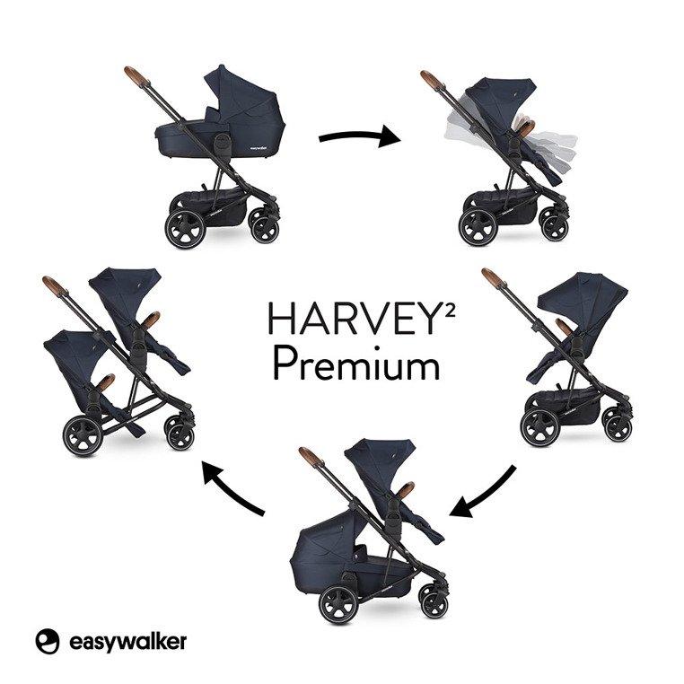easywalker harvey2 premium wózek spacerowy