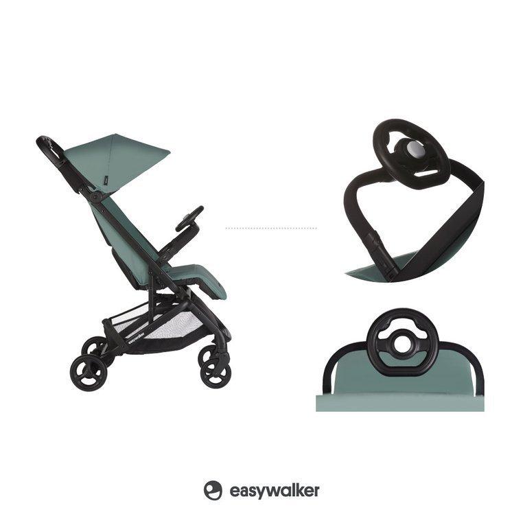 easywalker kierownica dla dziecka do wózka spacerowego modułowa