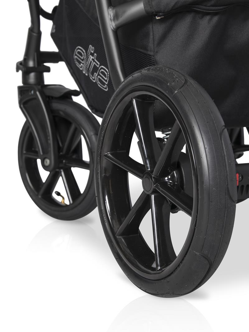 элитная коляска с расширителем 2в1