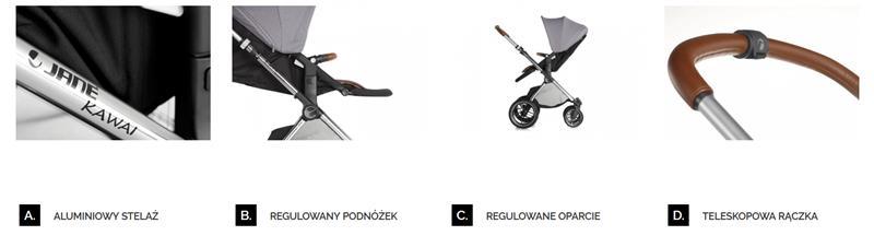 jane kawai wózek spacerowy