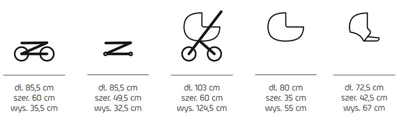 jedo koda wózek 2w1