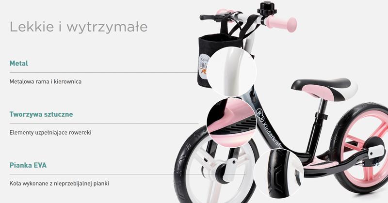 kinderkraft space rowerek biegowy