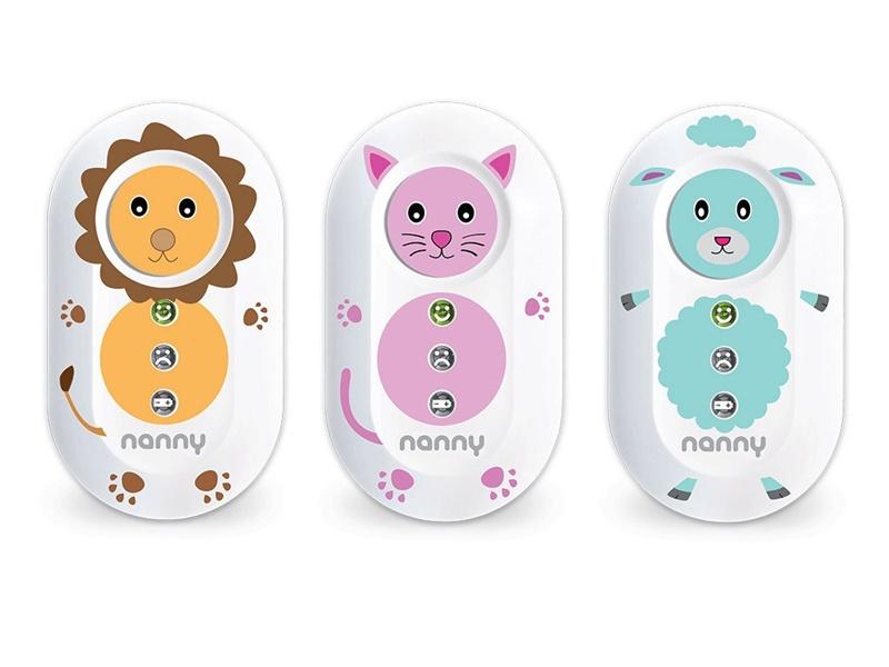nanny duo monitor oddechu dla dzieci