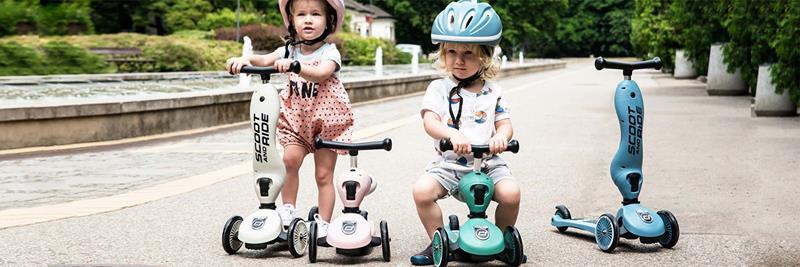 scoot & ride highwaykick1 hulajnoga / jeździk 2w1