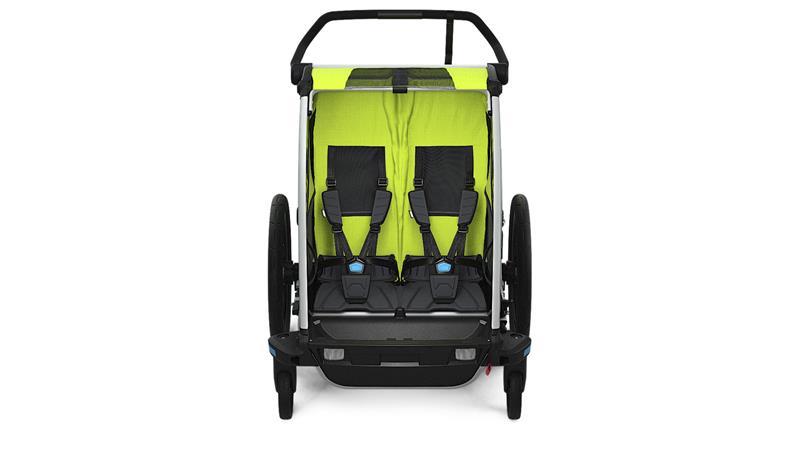 thule chariot cab 2 przyczepka rowerowa