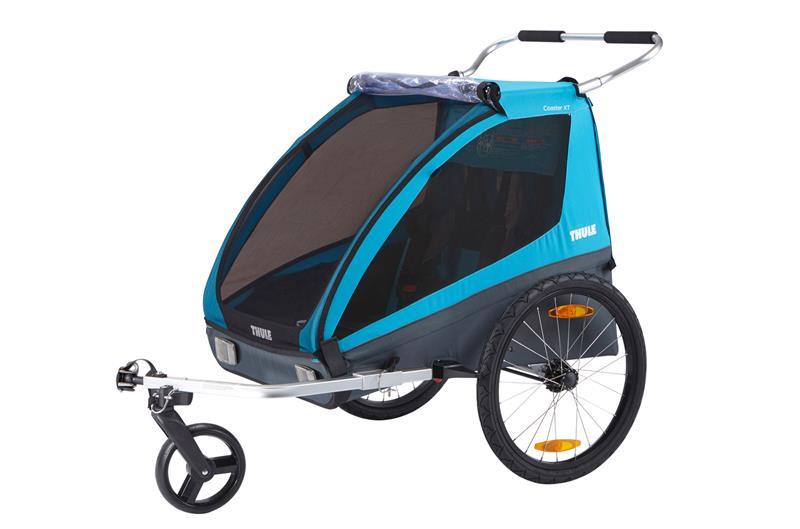 thule coaster xt 2 przyczepka rowerowa