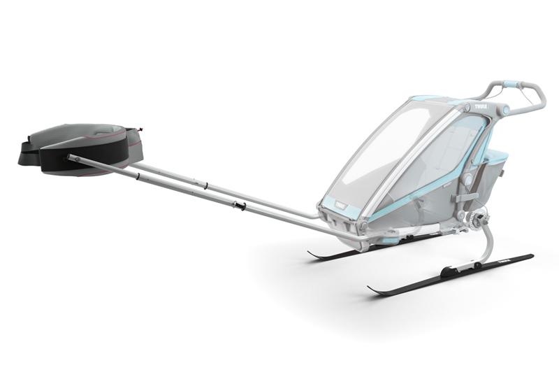 thule chariot skiing kit - zestaw do narciarstwa biegowego